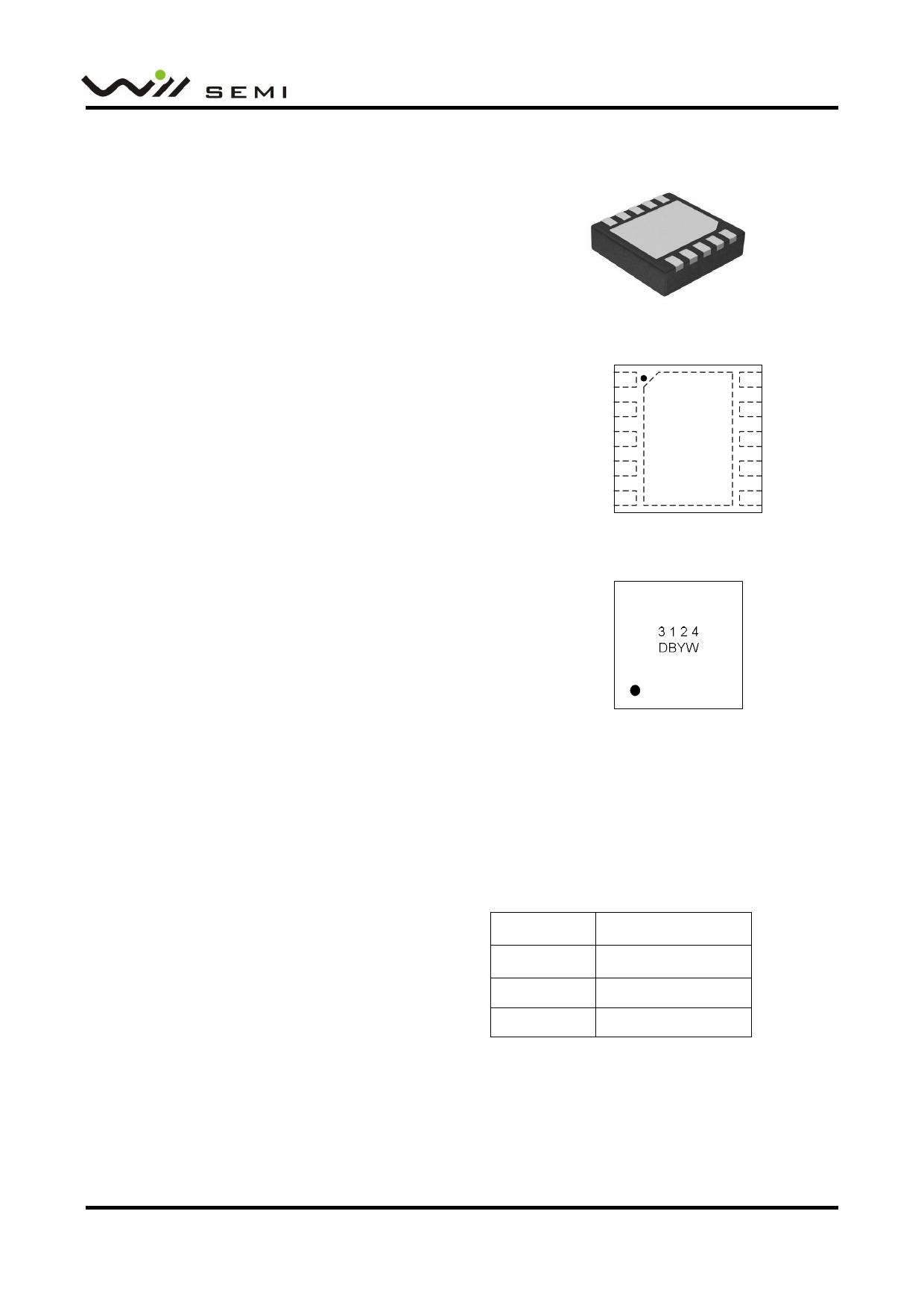 WD3124DB datasheet, circuit