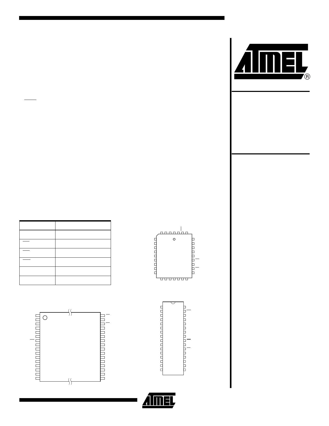 AT49F020 دیتاشیت PDF