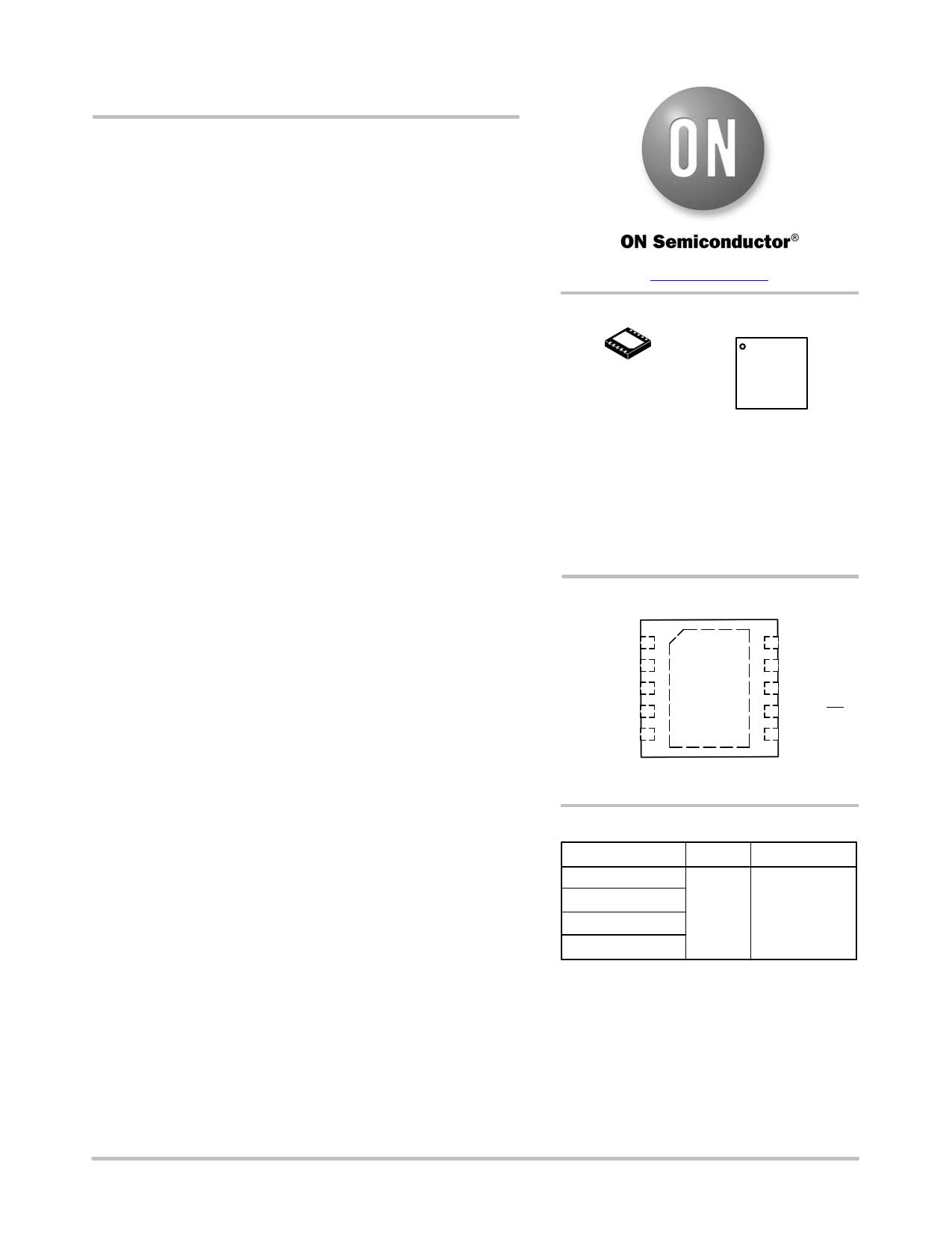 NCP1589B دیتاشیت PDF
