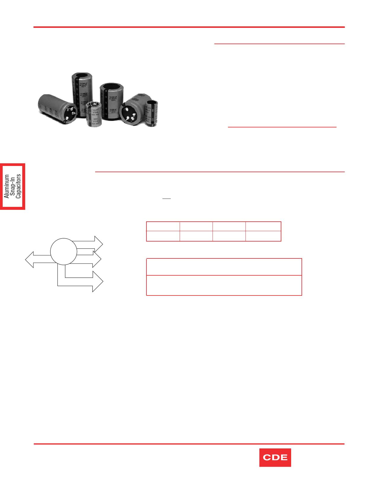 380LX271M450K452 datasheet