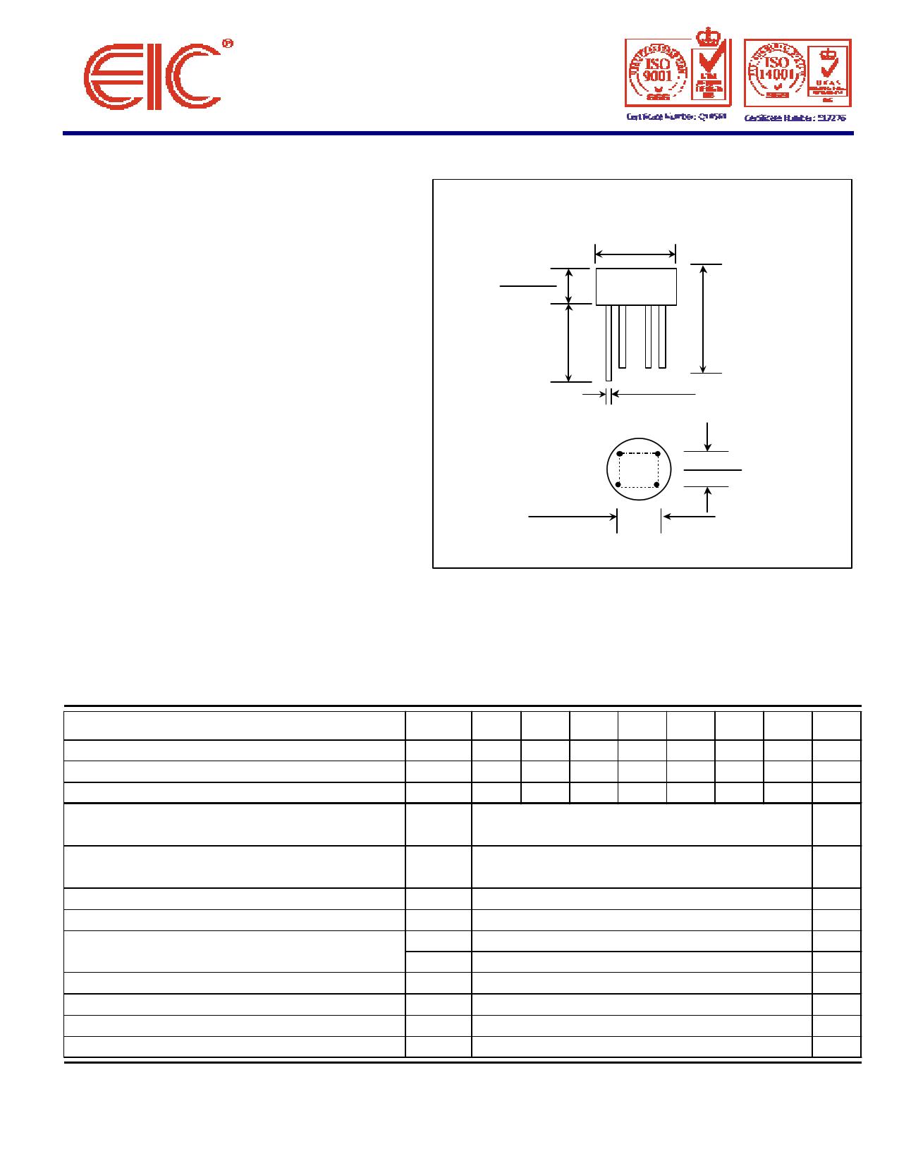 W005 Hoja de datos, Descripción, Manual