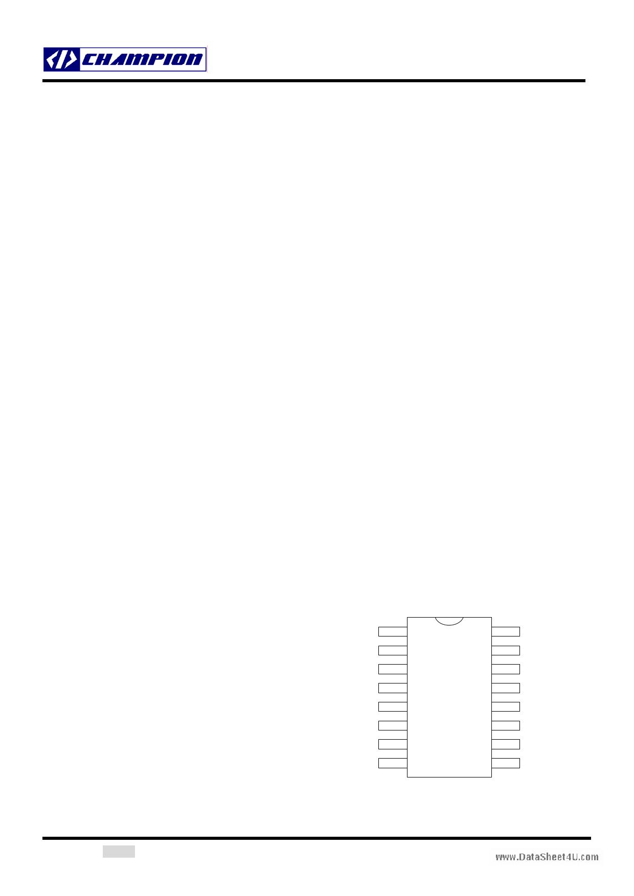 CM6800A Datasheet, CM6800A PDF,ピン配置, 機能