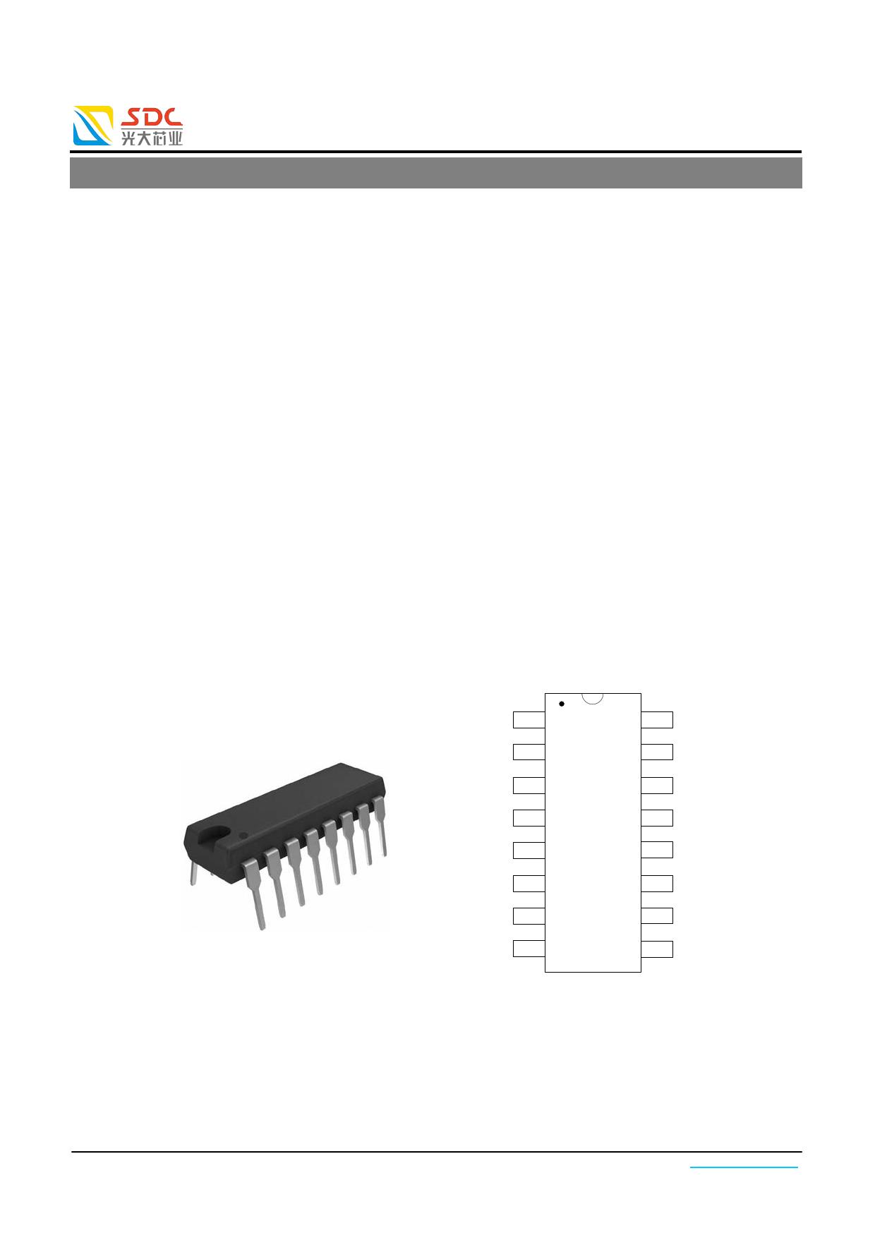 SDC7500 datasheet image