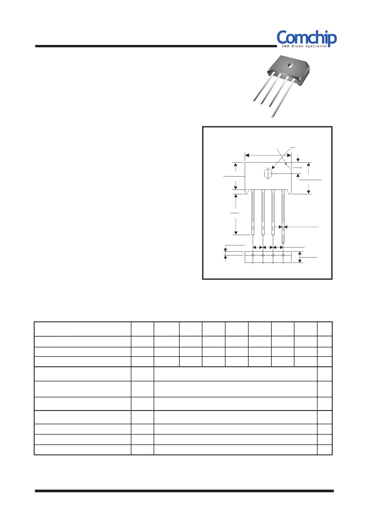 KBU6005-G datasheet