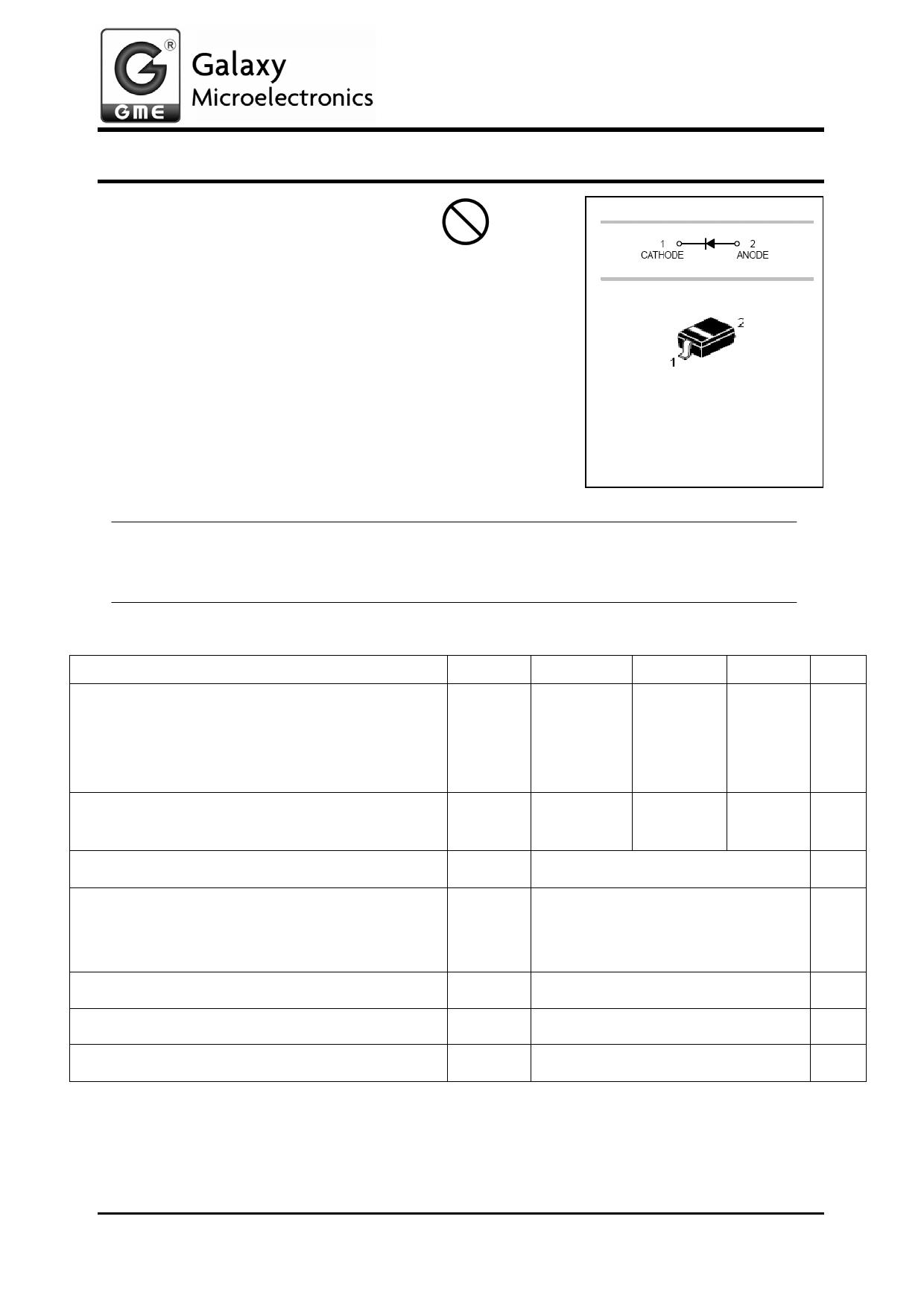 B0530WS دیتاشیت PDF