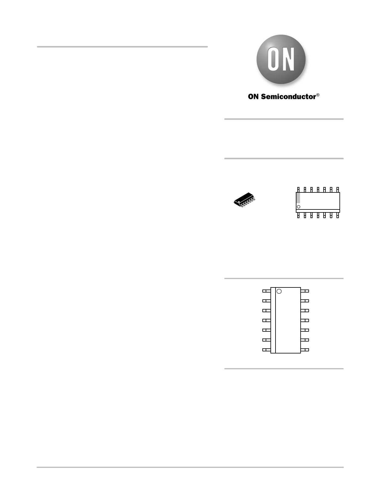 NCP1381 دیتاشیت PDF