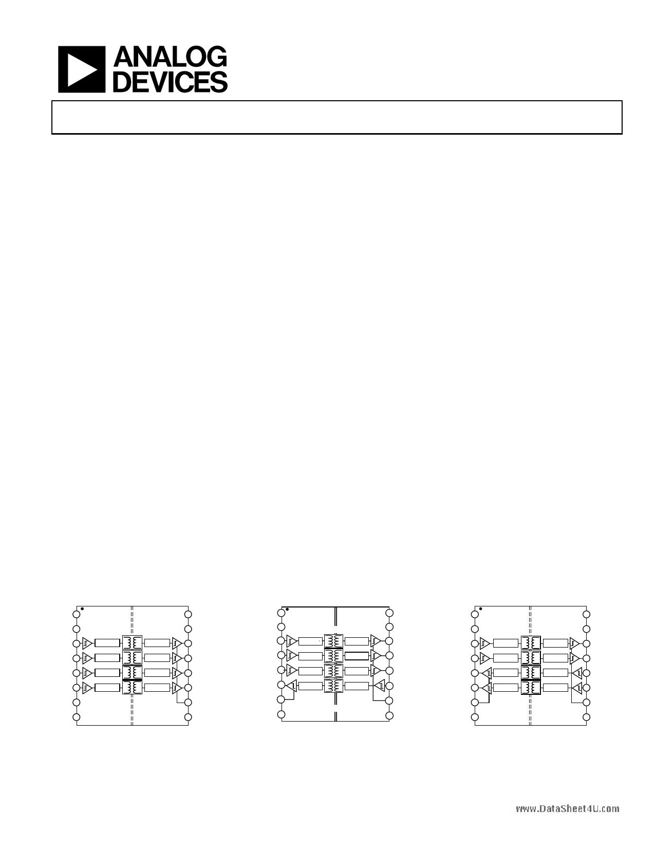 ADUM2400 دیتاشیت PDF
