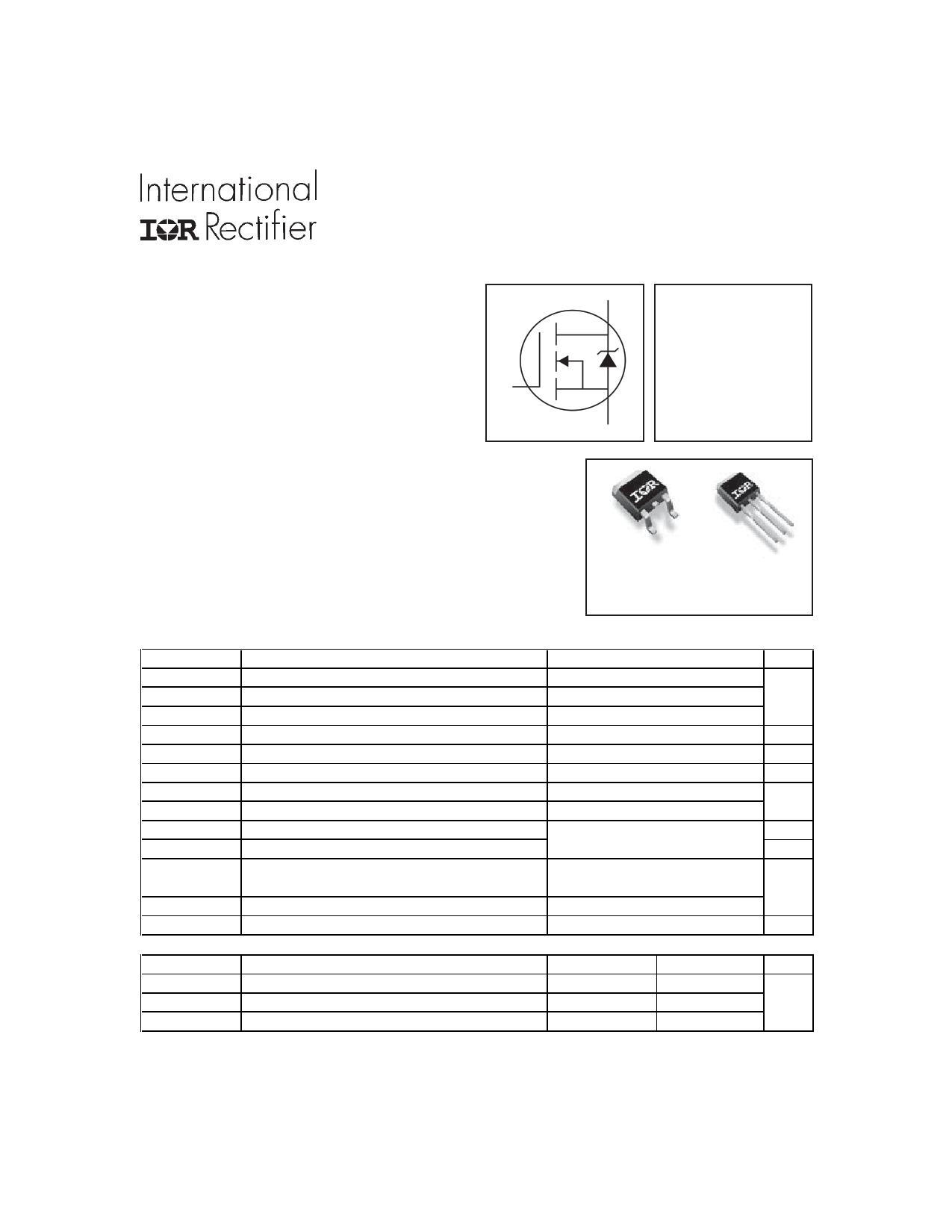 IRFR120Z Datasheet, IRFR120Z PDF,ピン配置, 機能