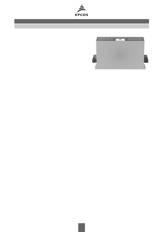 B84143-AFE1 datasheet