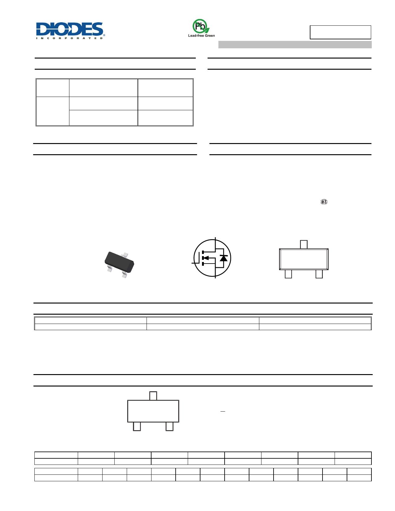 ZXMN2F30FHQ دیتاشیت PDF