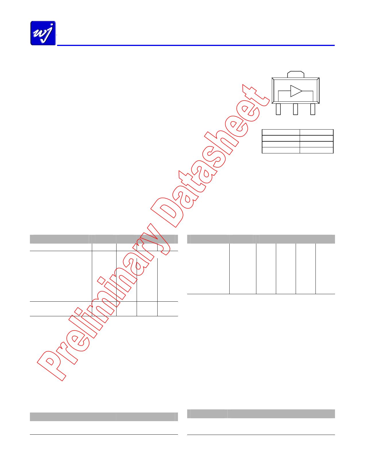 WJA1505 دیتاشیت PDF