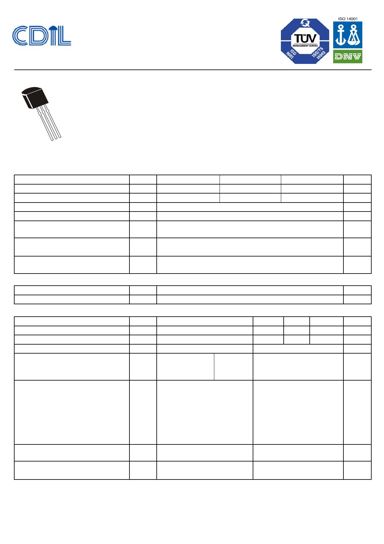 BC485L 데이터시트 및 BC485L PDF