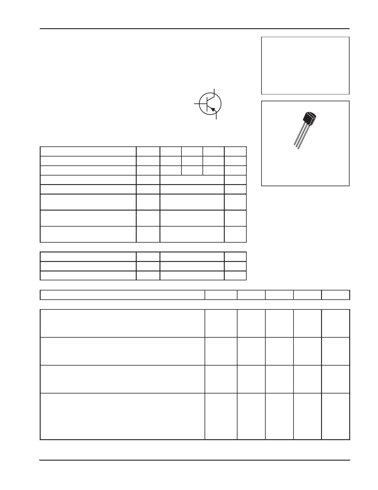 BC558 데이터시트 및 BC558 PDF