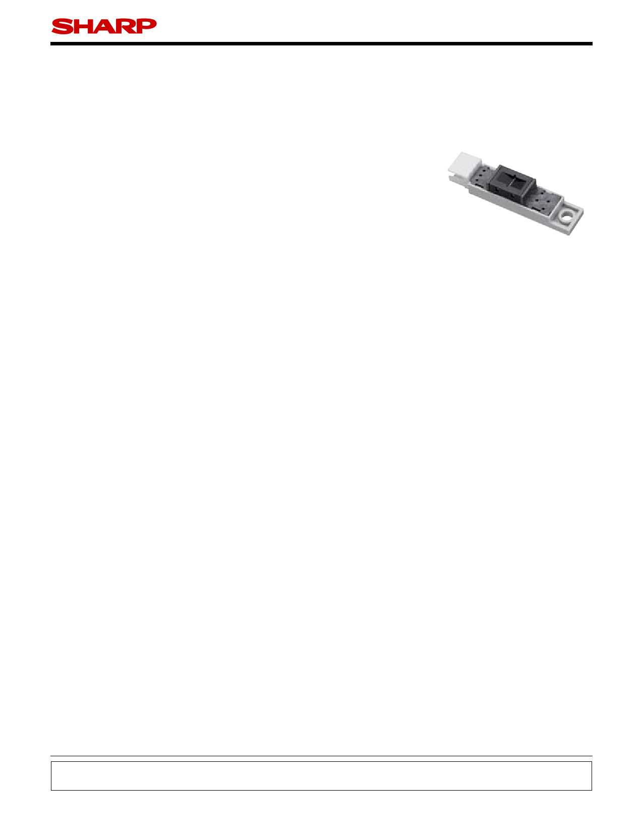GP2A200LCS0F دیتاشیت PDF