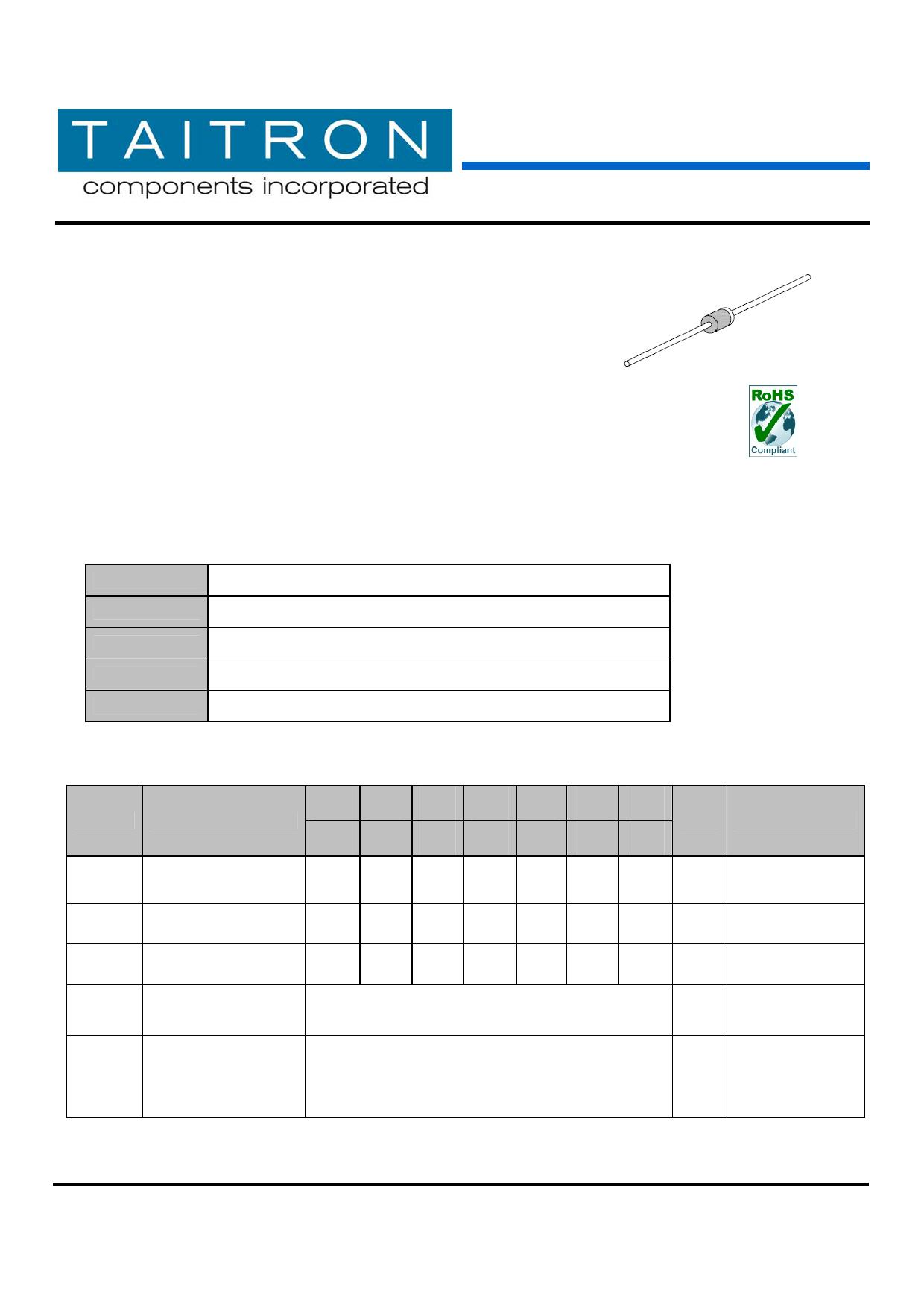 TF105 datasheet