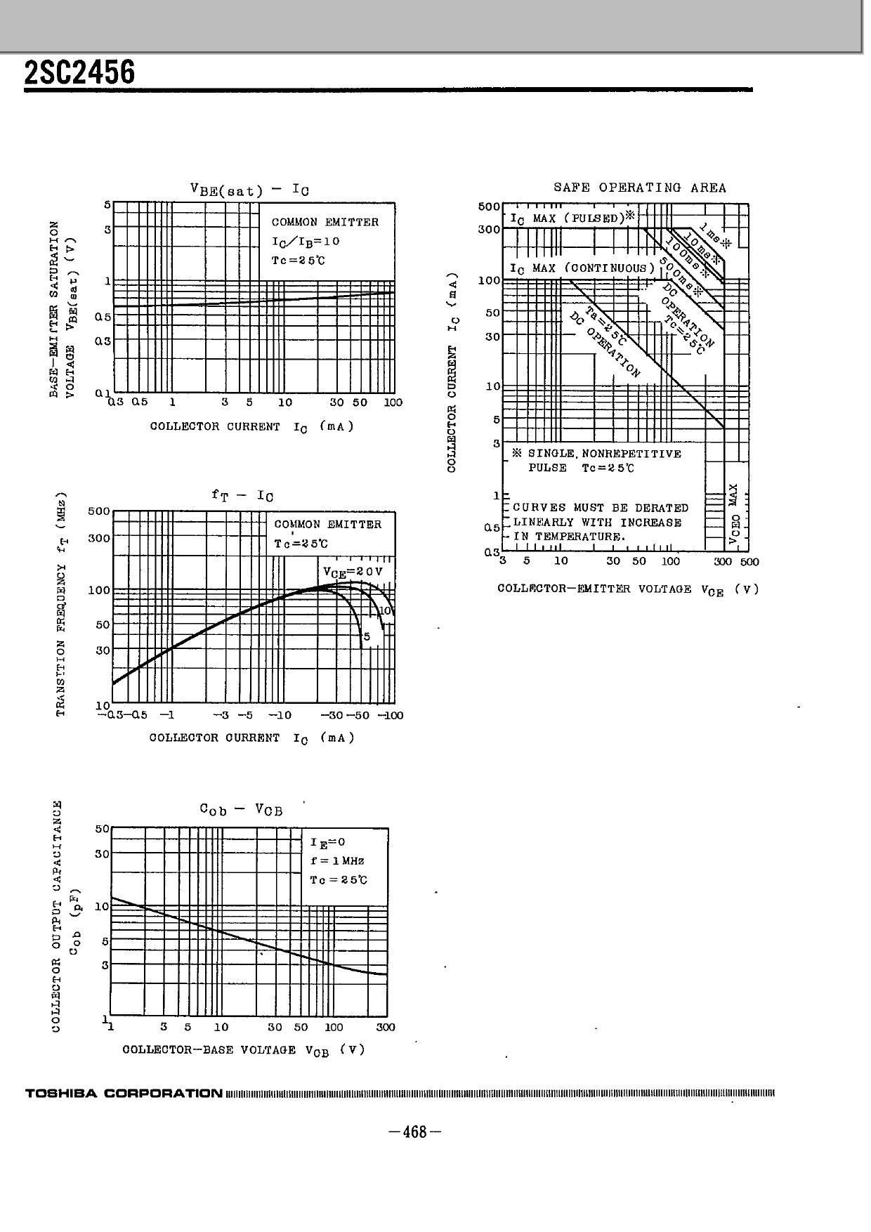 2SC2456 pdf, ピン配列