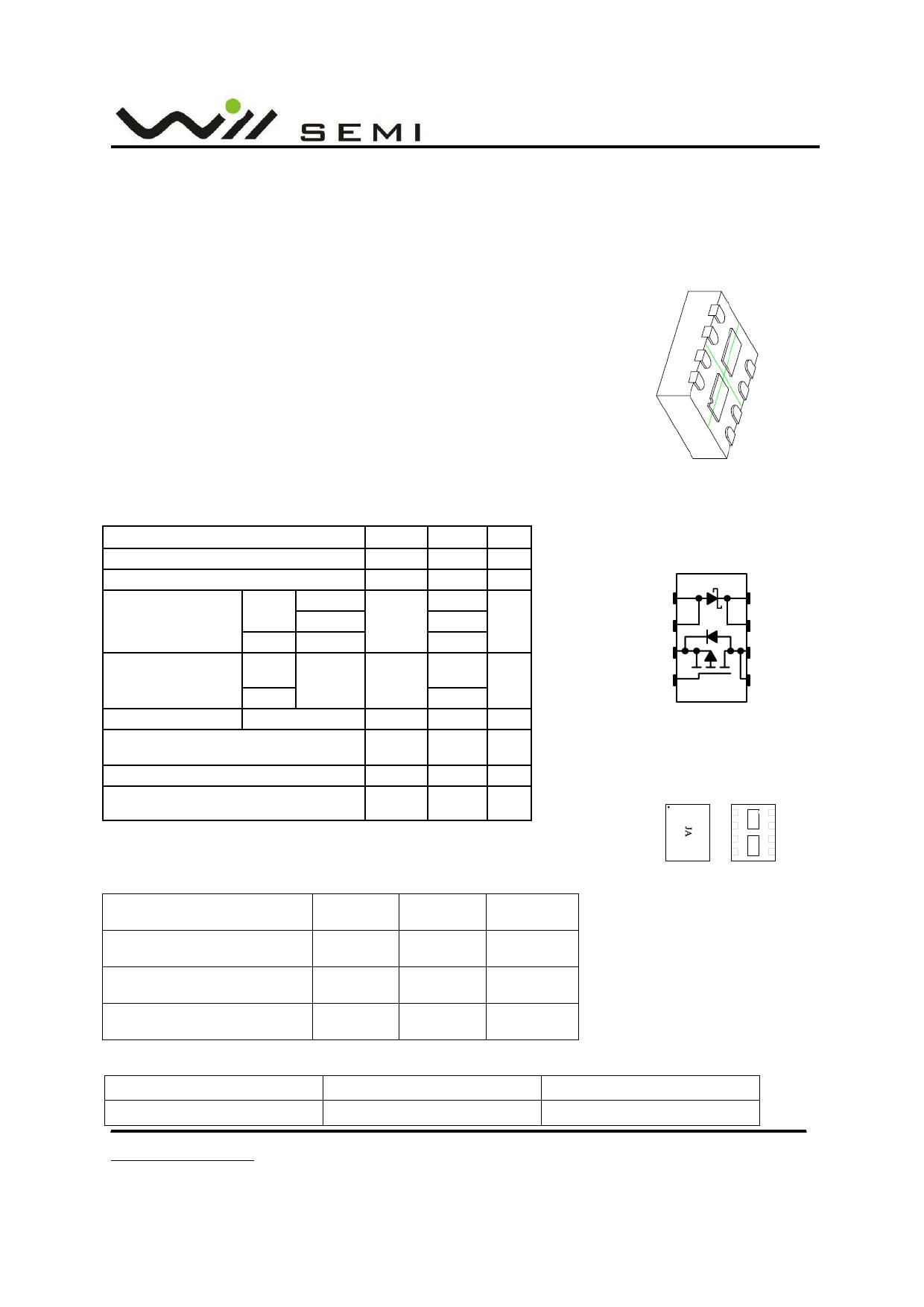 WPM2005 datasheet