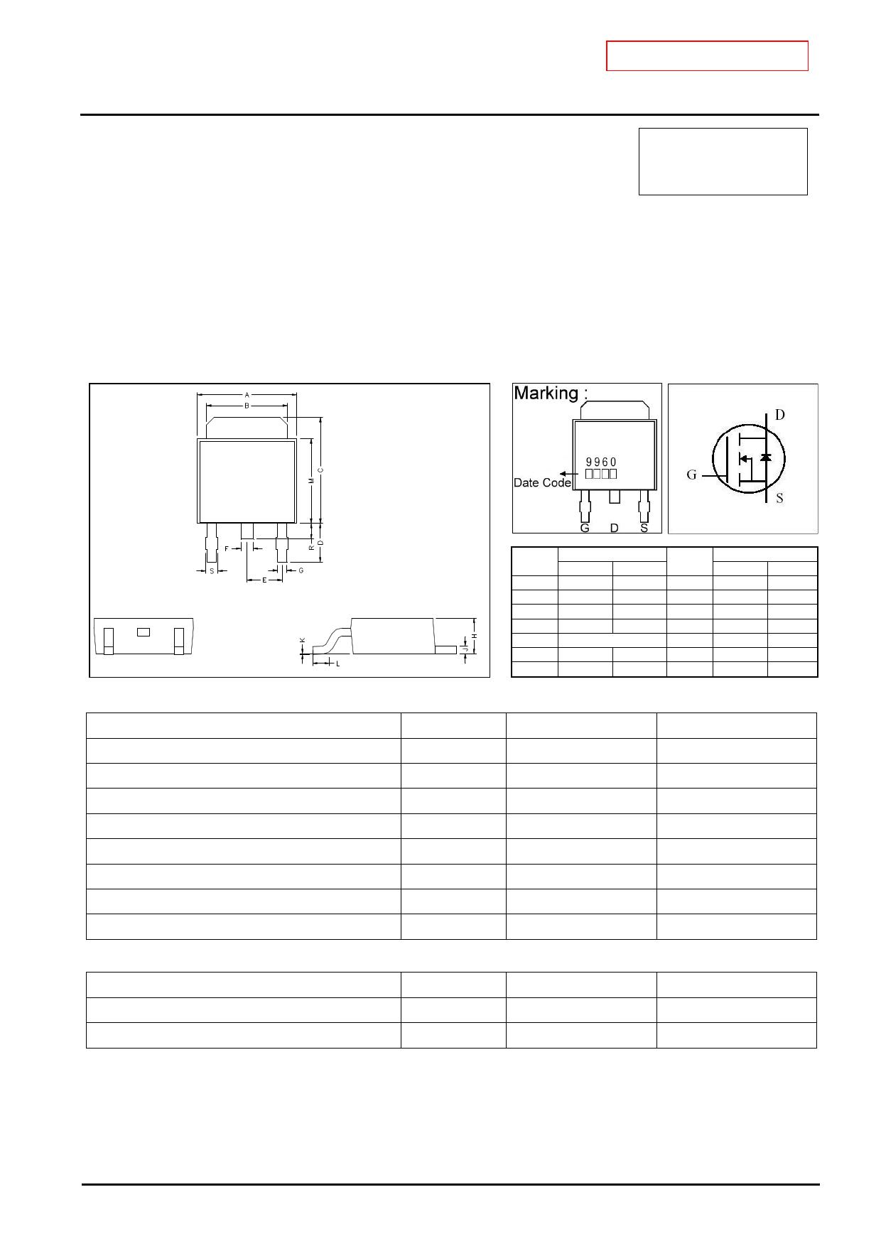 GJ9960 دیتاشیت PDF