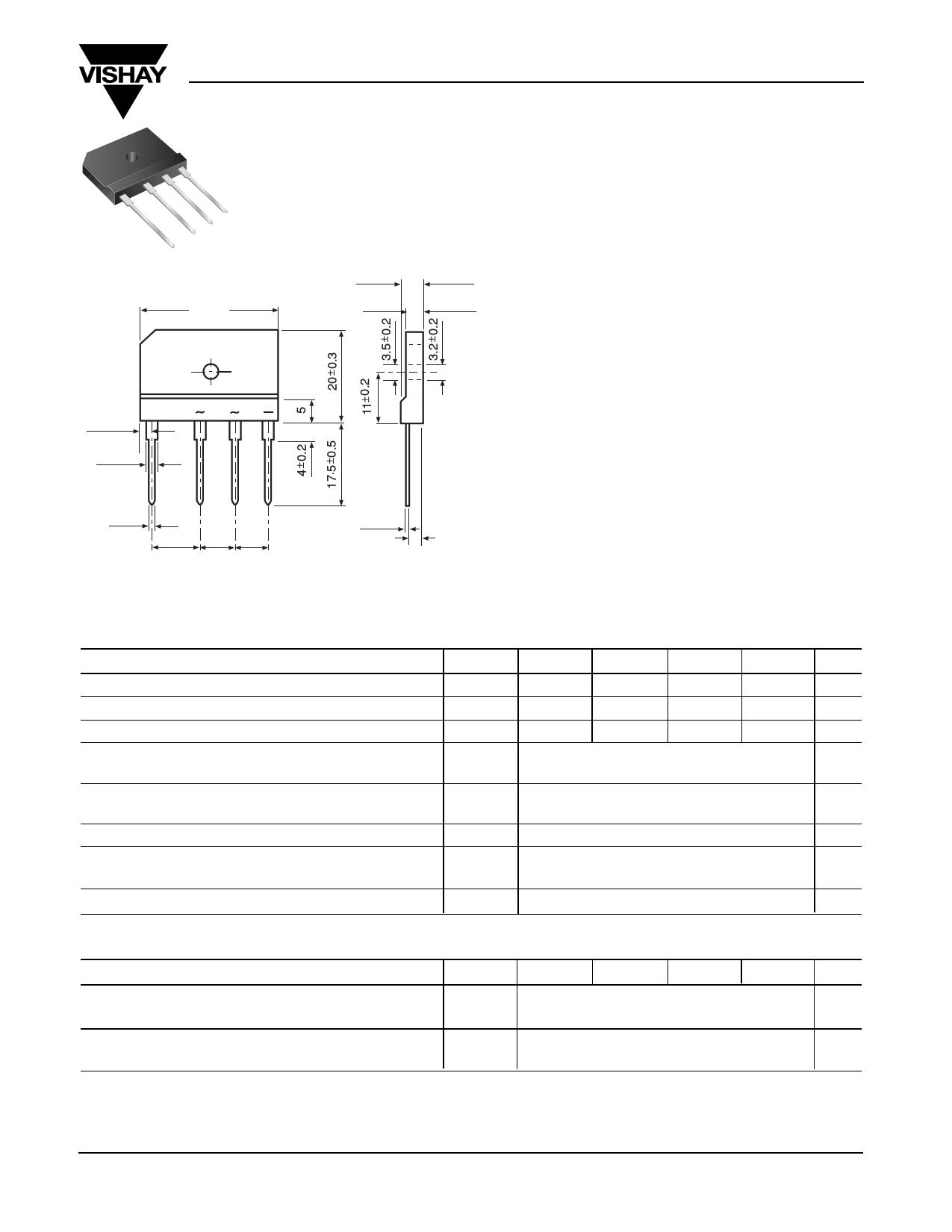 GSIB2560 دیتاشیت PDF