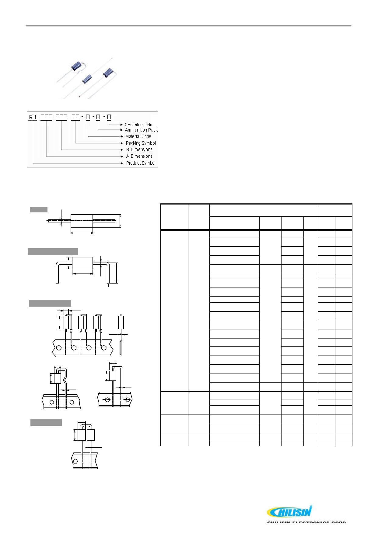 RH08010 데이터시트 및 RH08010 PDF