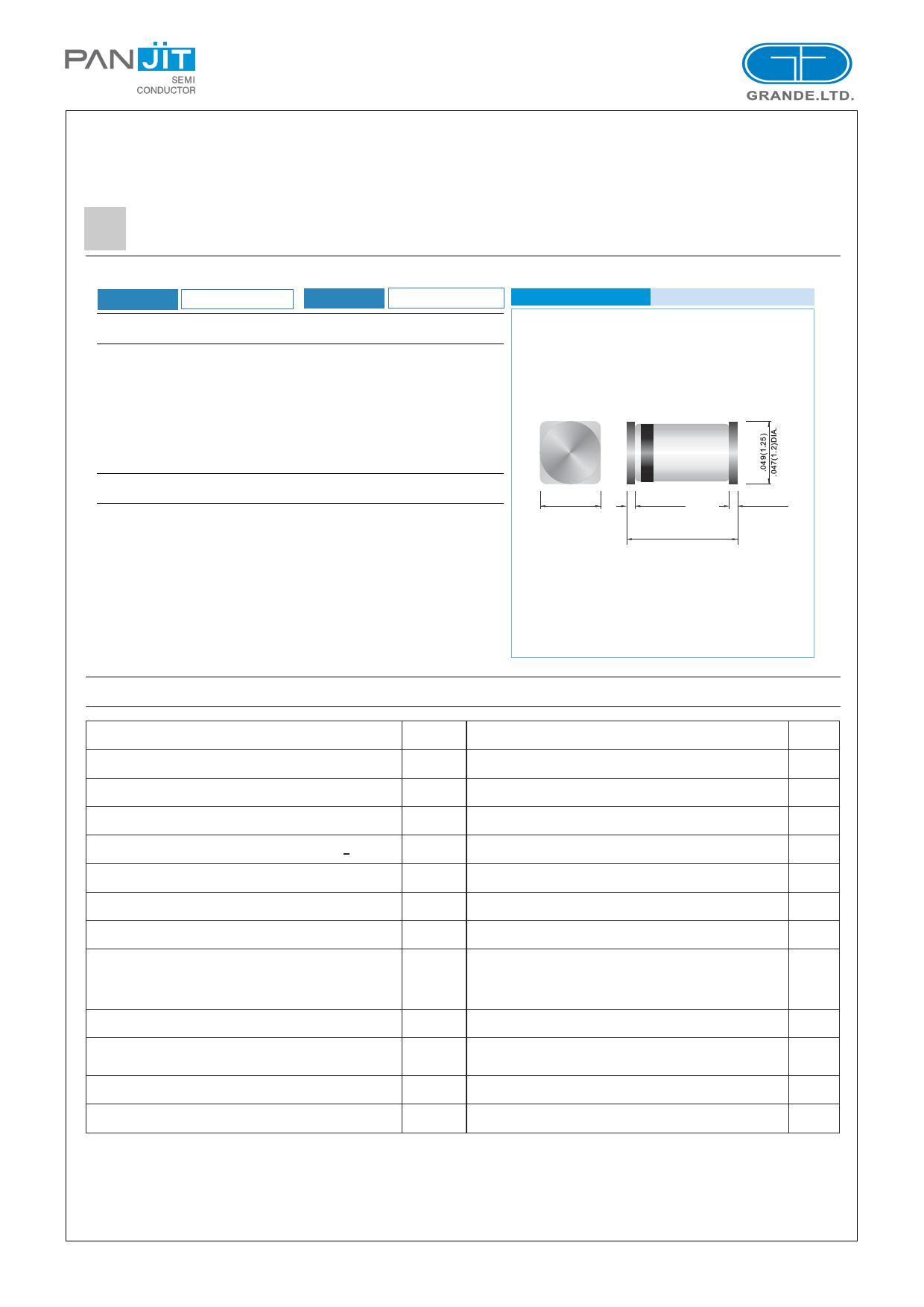 MCL4148 Datasheet, MCL4148 PDF,ピン配置, 機能