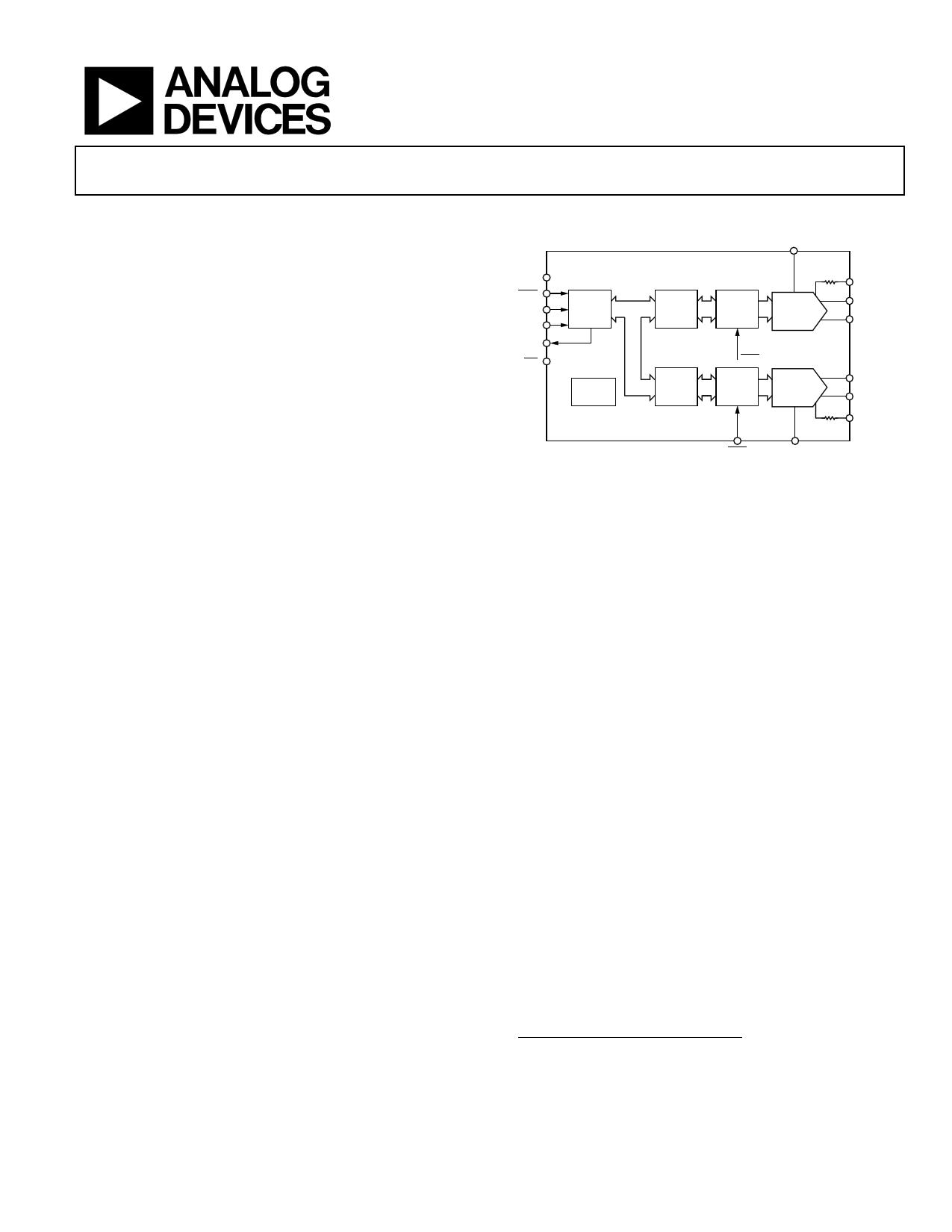 AD5449 Даташит, Описание, Даташиты