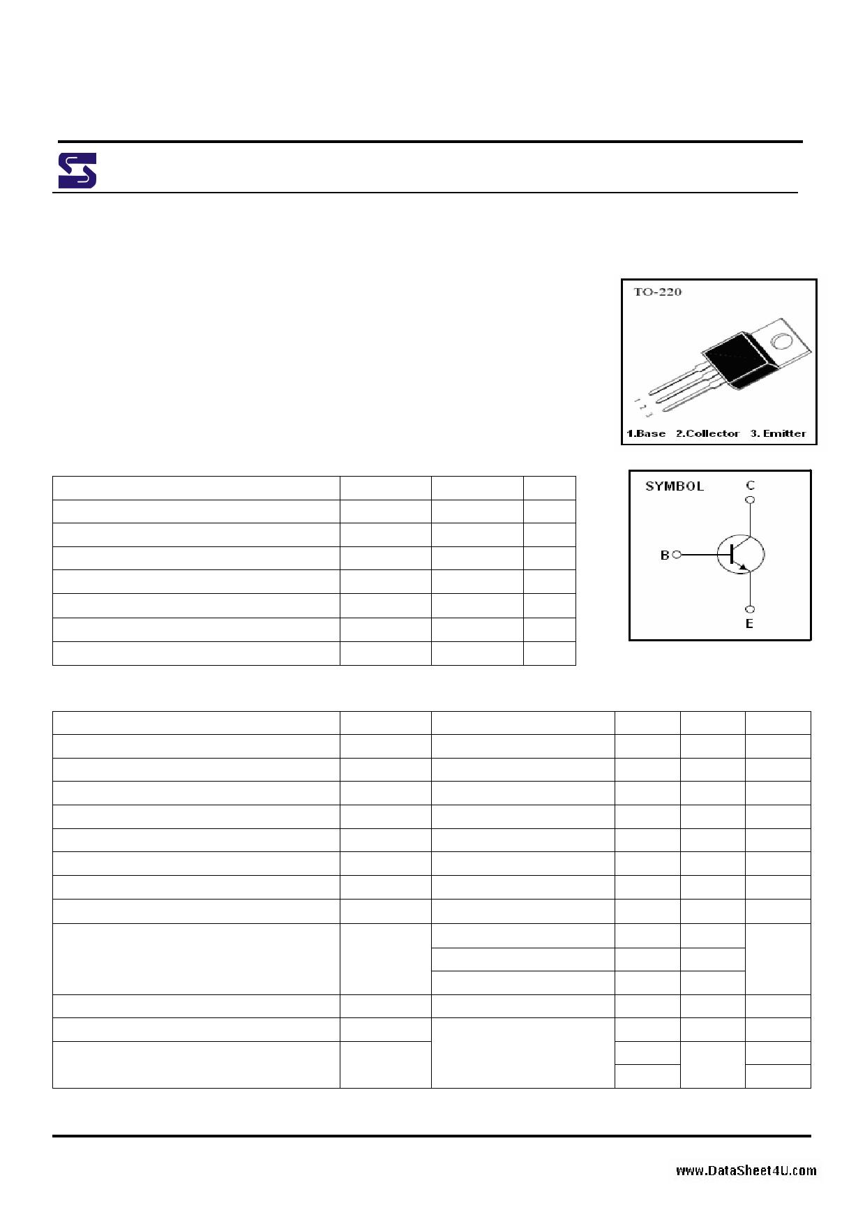 E13007-2 دیتاشیت PDF