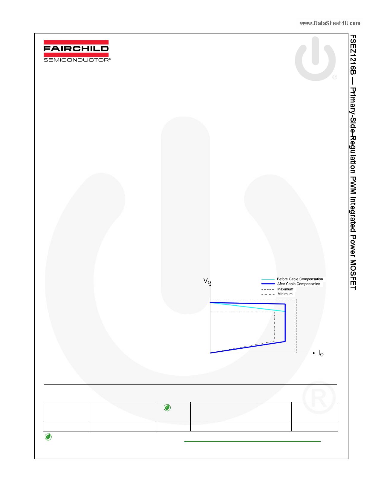 FSEZ1216B datasheet
