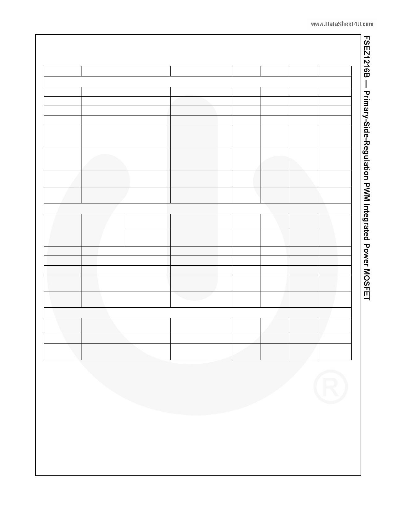 FSEZ1216B pdf