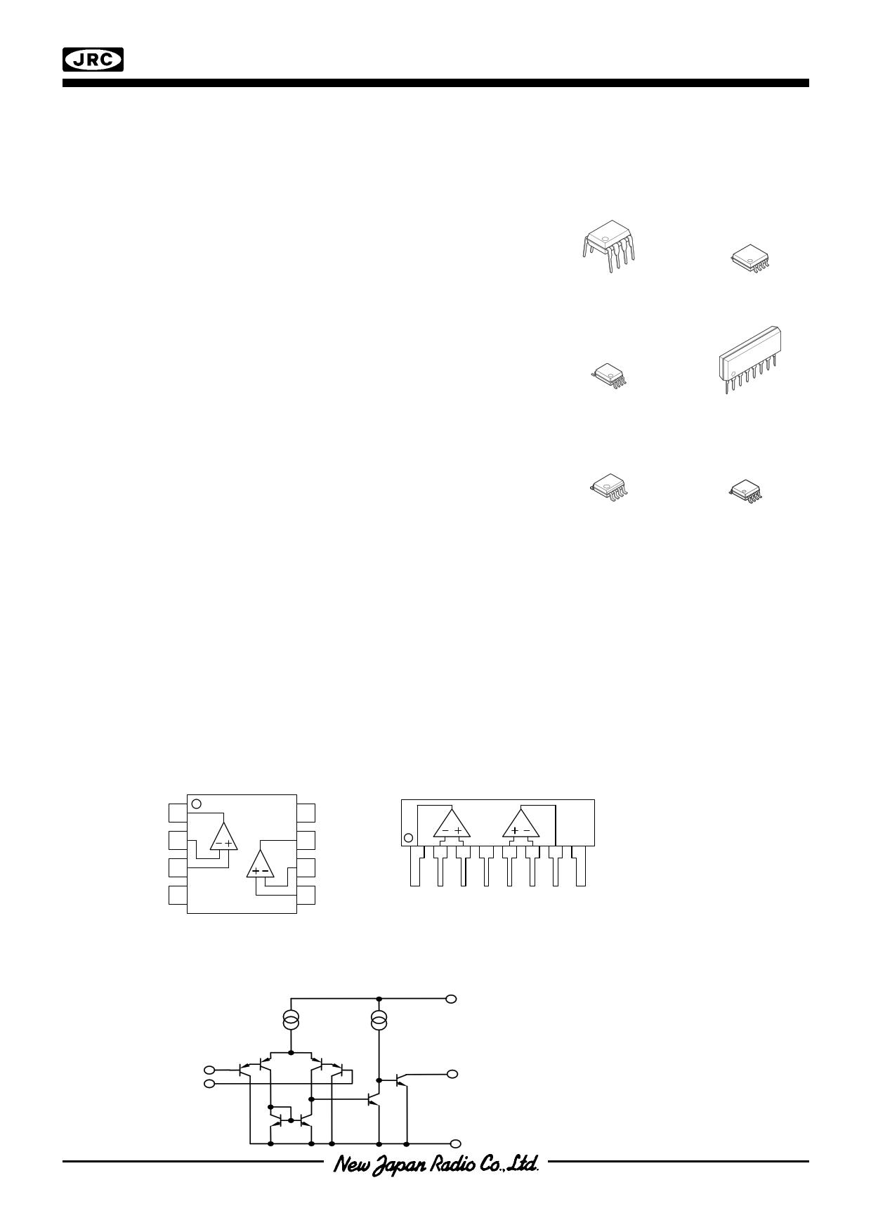 njm2903 pdf  ub370 uc774 ud130 uc2dc ud2b8 - single-supply dual comparator