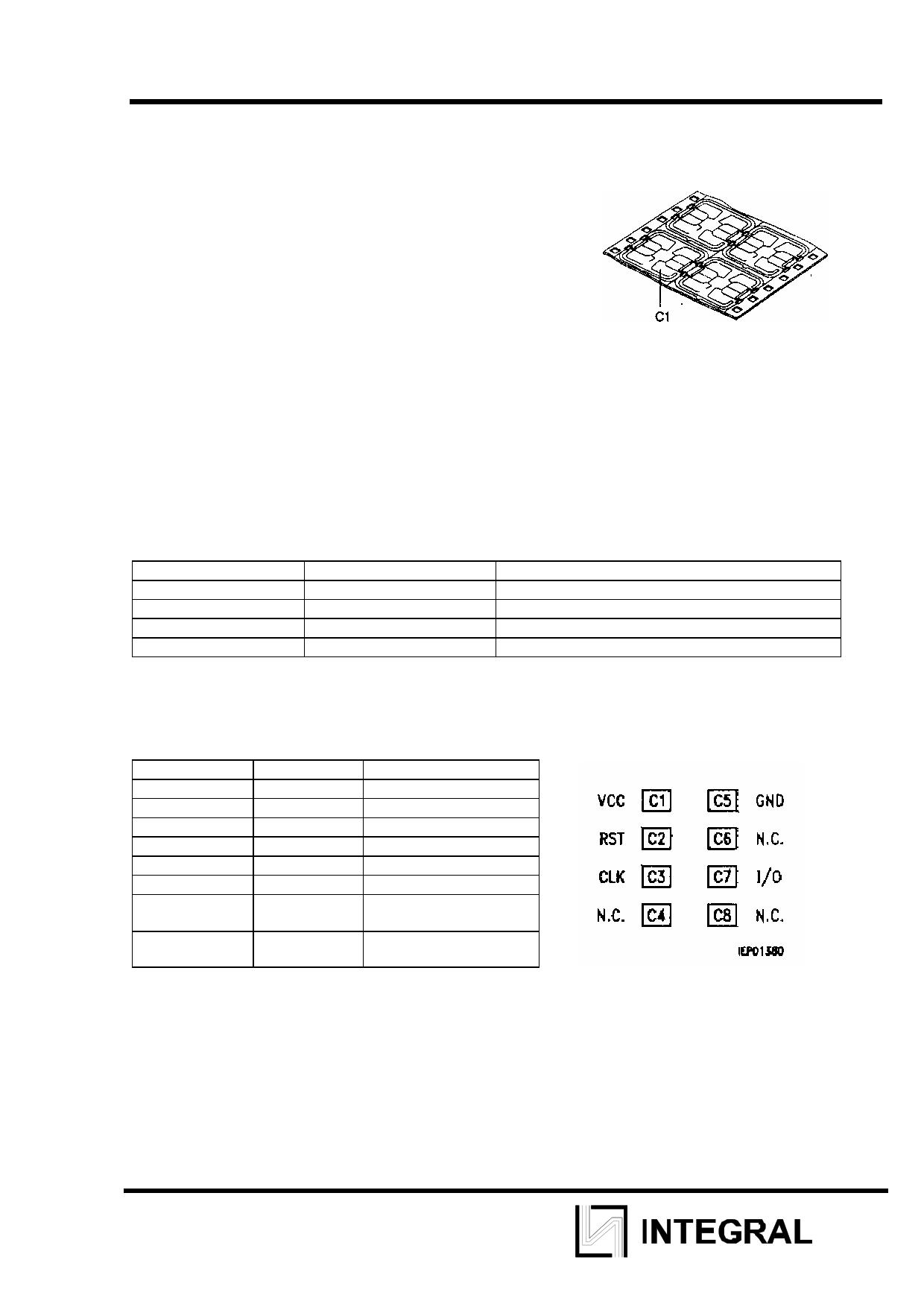 IZE4442 Datasheet, IZE4442 PDF,ピン配置, 機能