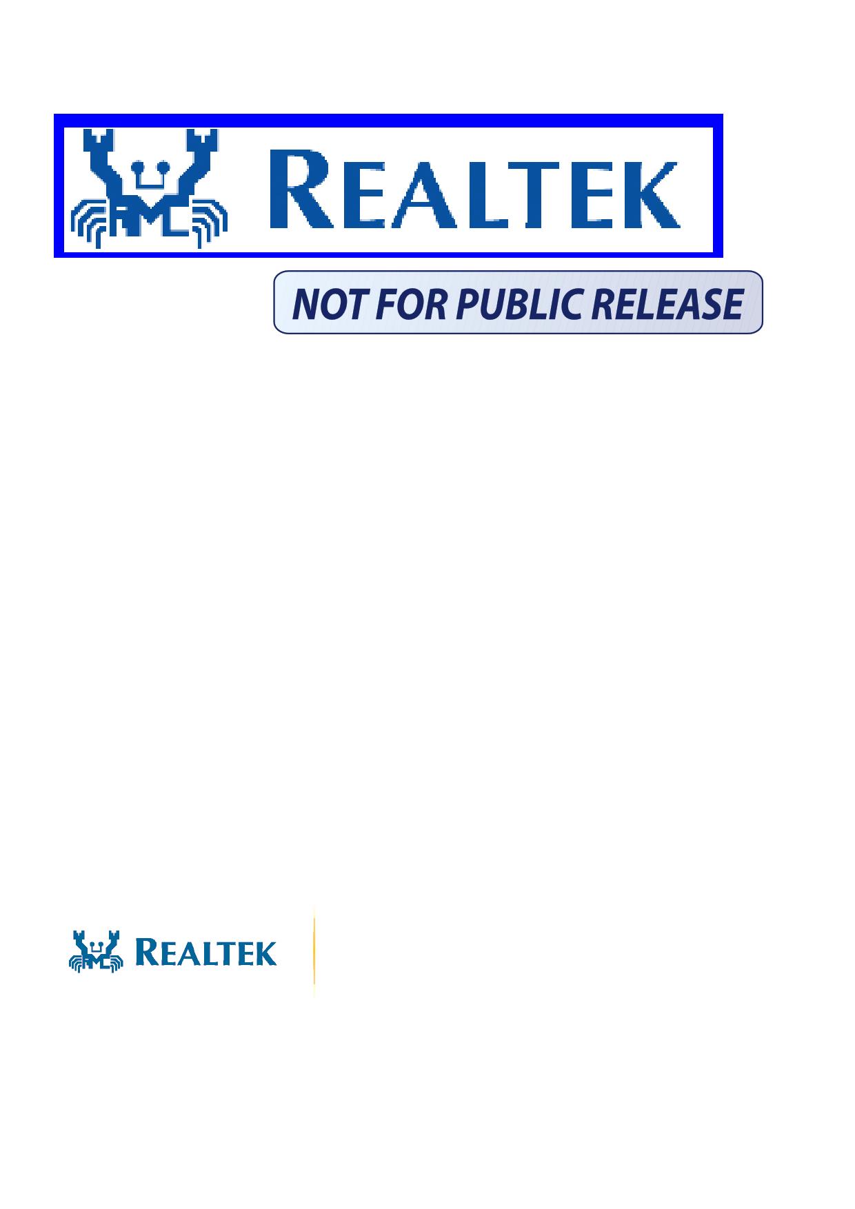 RTL8218B-CG Datenblatt PDF