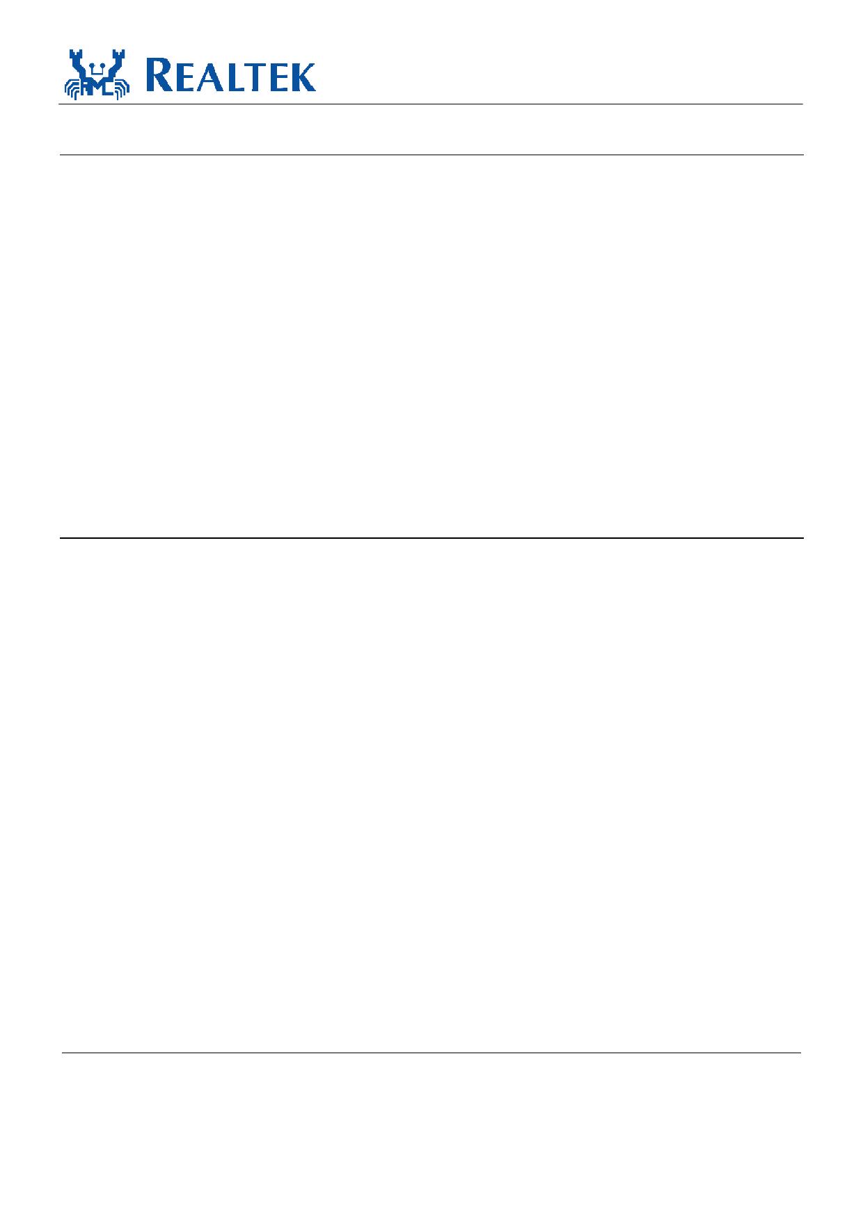RTL8218B-CG Datasheet, Funktion