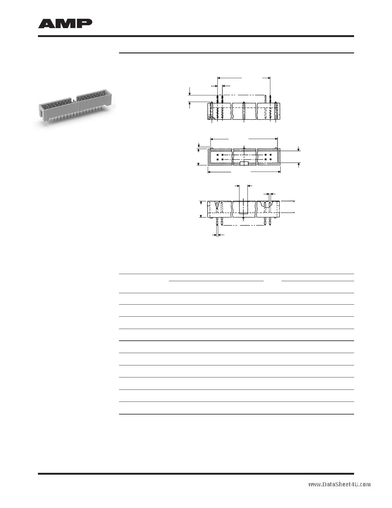 9-1437063-7 Hoja de datos, Descripción, Manual