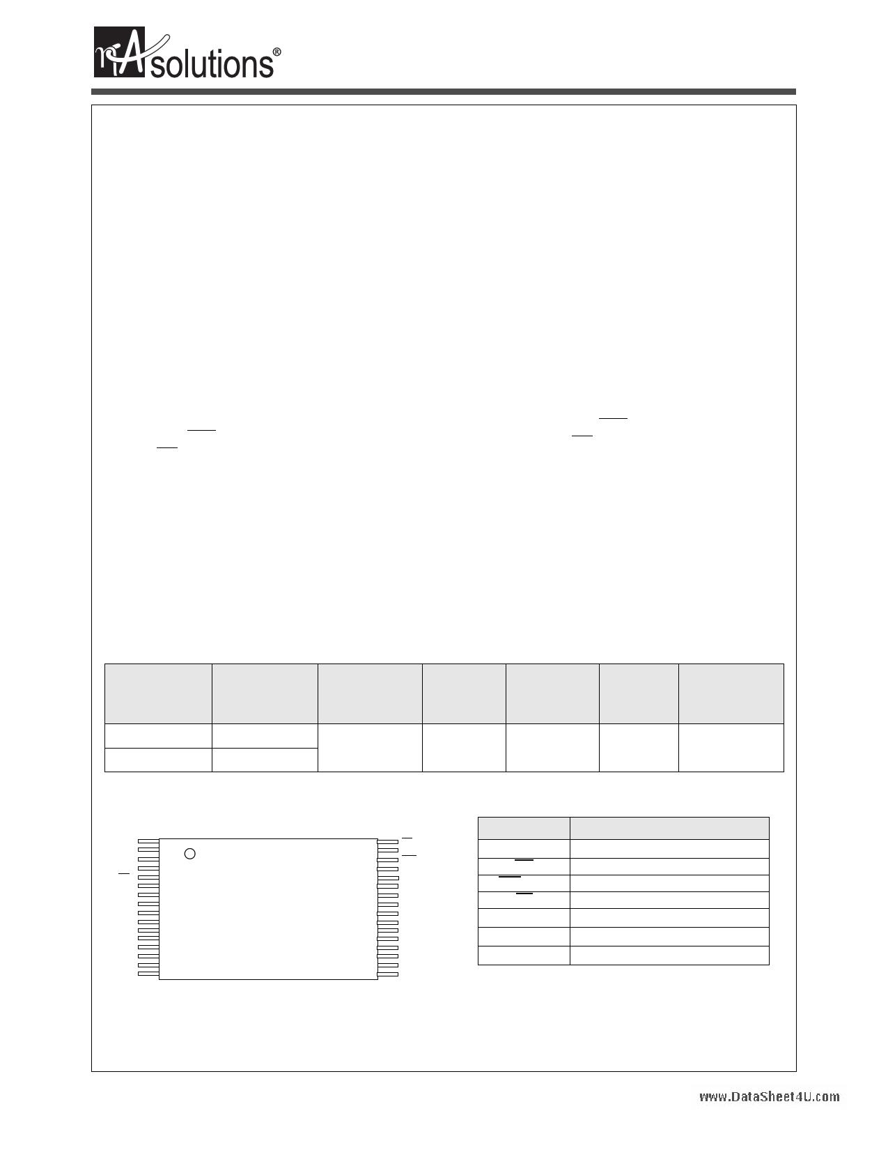 N02M083WL1A دیتاشیت PDF