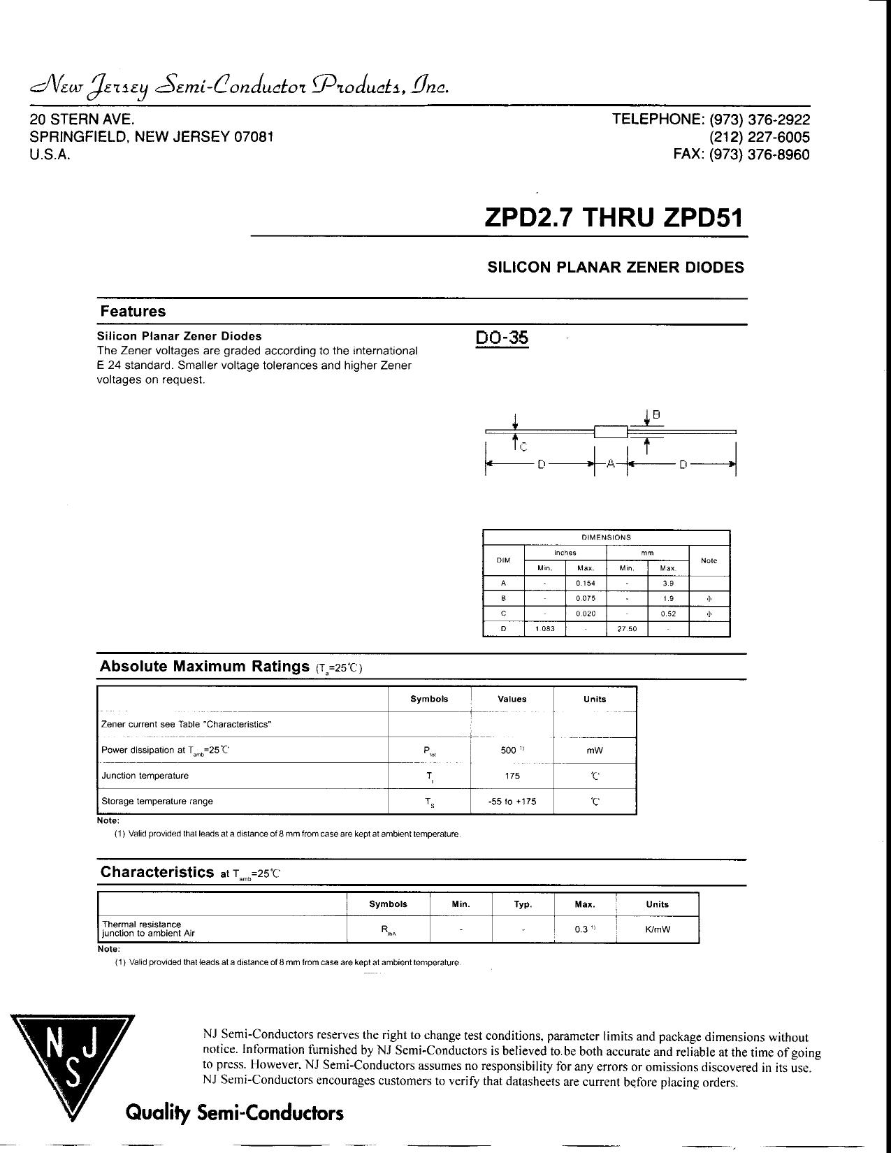 ZPD43 Даташит, Описание, Даташиты