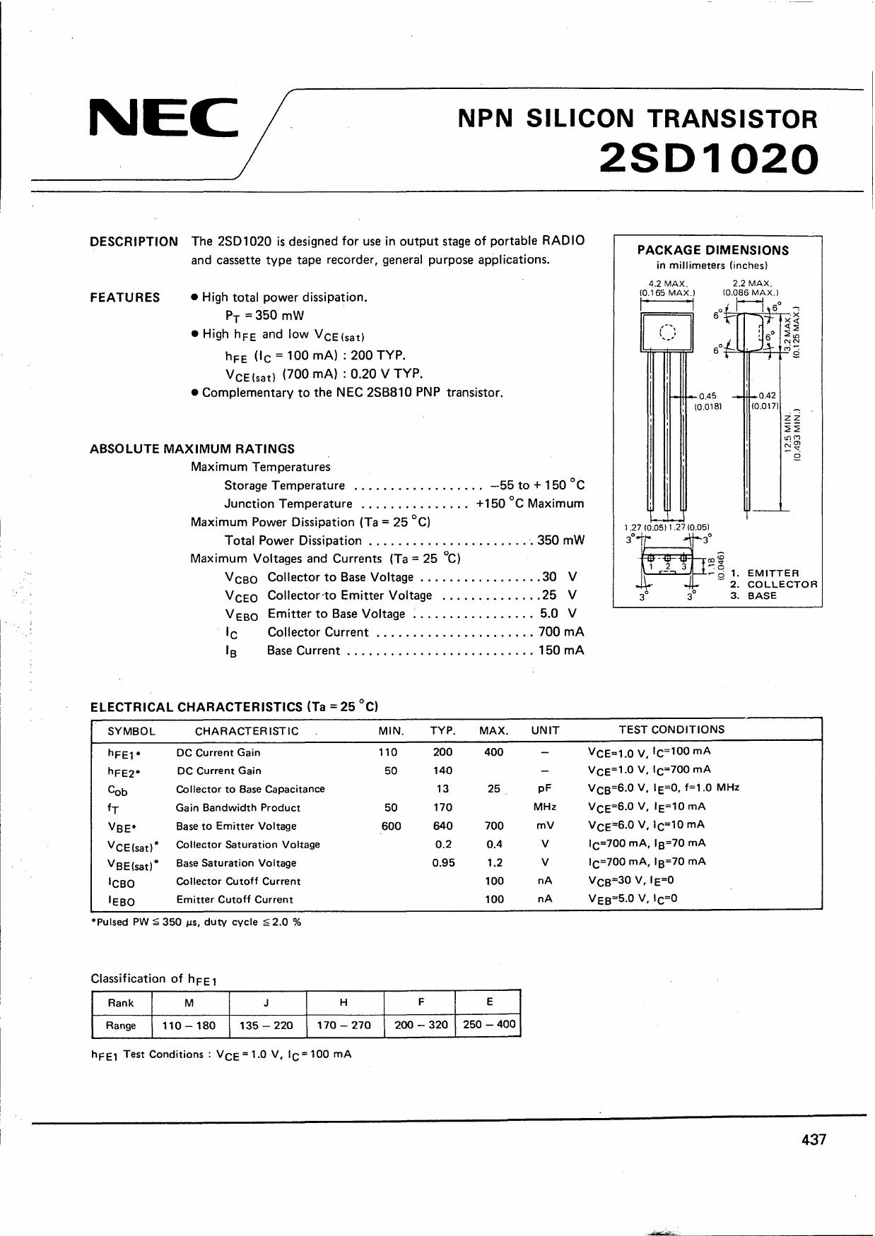 D1020 دیتاشیت PDF
